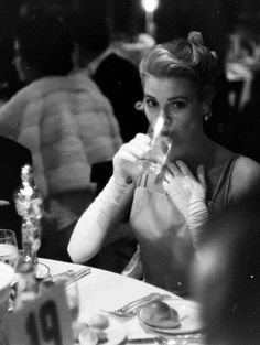 Grace Kelly at the Academy Awards 1955