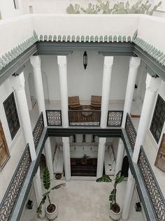 Dream Home Design, Home Design Decor, House Design, Hotel Architecture, Islamic Architecture, Cultural Architecture, Morocco Hotel, House Construction Plan, Riad Marrakech