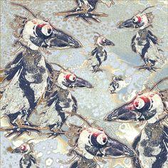 Nel Kamphuis. The Raven 2 In het kader van KunstKeten.nl en Into Nature.nl heb ik een aantal fotocollages ontworpen. De aanleiding was een gedicht van Edgar Allen Poe waarin een raaf de hoofdrol vervult . Dit gedicht zou kunnen gaan over het loslaten van verdriet, wanneer je in een situatie komt waarin je aan jezelf overgeleverd voelt. De luchtigheid van de ontwerpen vormen een belangrijke bijdrage voor dit idee.