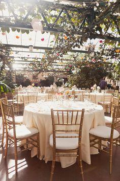 indoor garden receptions