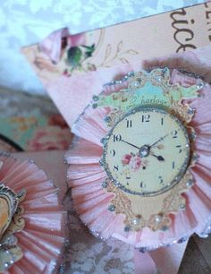 EAT CAKE Marie Antoinette French Frilly Glittery by Joosycardco