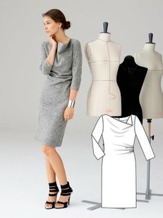 TOUCH this image: Make this dress by BurdaStyle Admin