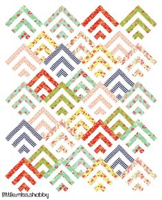 Scrappy Mod Cabin in my magazine- - Easy Quilts Summer 2014
