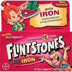 Flintstones Chewable Kids Vitamins with Iron, Multivitamin for &... 885781264083   eBay Multivitamin Tablets, Multivitamin Supplements, Chewable Vitamins, Prenatal Vitamins, Children's Vitamins, Benefits Of Vitamin A, Vitamins For Kids, Bone Health