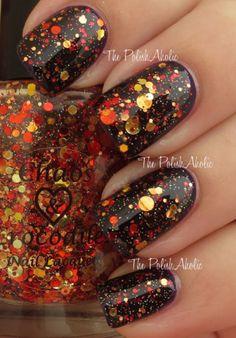 Beautiful Autumn Nails Art Collection Ideas 4820