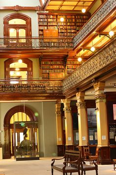 Mortlock Wing State Library Adelaide  Australia