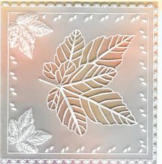 Autumn Leaves by flybynight - Cards and Paper Crafts at Splitcoaststampers