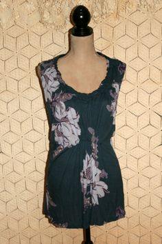 Floral Sleeveless Boho Blouse Boho Clothing by MagpieandOtis