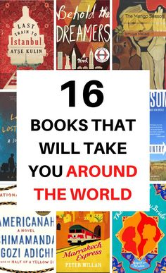 Looking for a great novel to feed your wanderlust? Here are 16 of the best wanderlust books and novels that will inspire you to explore or will take you around the world without leaving your room. Read around the world with my favorite list. #books #wanderlust #novels #bookstoread