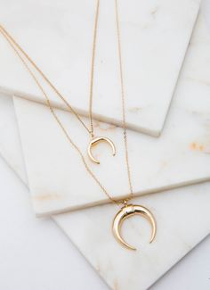 Get the layered boho look with the Heidi necklace, the perfect everyday piece for those who like their jewellery dreamy.