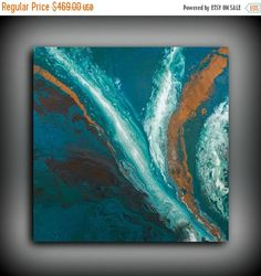 Art Abstract Painting Acrylic Paintings XL / by LDawningScott