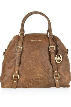 Michael KorsBedford ostrich-effect leather tote... drool. $288.