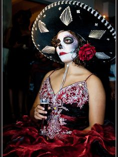 Day of the Dead Quinceanera