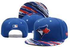 MLB Toronto Blue Jays Blue Snapback Hats Brim Colorful Stripes|only US$6.00 - follow me to pick up couopons.
