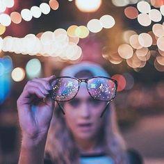 Eu só vejo constelações de onde eu estou