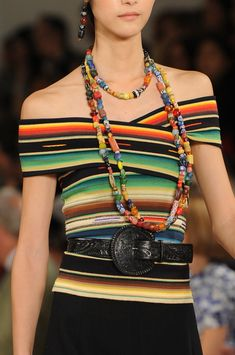Ralph Lauren Spring 2013 - Details| Keep the Glamour | BeStayBeautiful  Love the Mexican style!
