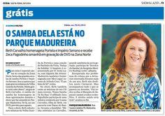 #BethCarvalho O Dia 2014
