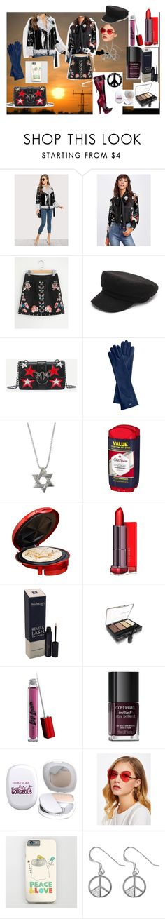 """""""Alaskan airlines stewardess: please put your trays in the upright position"""" by naomig-dix ❤ liked on Polyvore featuring Mark & Graham, Old Spice, Elite by Maxi-Matic, COVERGIRL and Nemesis"""