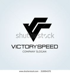 Victory logo,V letter logo,victory speed,automotive logo,vector logo template