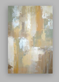 Original Acrylic Abstract Painting TItled by OraBirenbaumArt, $275.00
