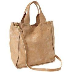 Gap Colorblock Leather Bag - pink metallic