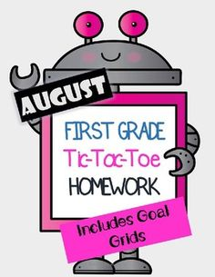 Are you tired of deciding which worksheets to send home for homework each week? Me too!! I've decided to do something different this year with a tic tac toe system. Each week on Monday I will send home a tic tac toe form and ask the students to complete 3 boxes. (But really it is just 2 if they use the freebie!)