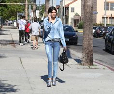 Kendall Jenner's Tip For Wearing Double Denim