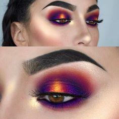 Rosa und lila Augen Make-up sieht 1 Pink and purple eye makeup looks 1 – # eyes # purple # makeup # pink # looks # and Purple Eye Makeup, Eye Makeup Tips, Makeup Goals, Makeup Inspo, Eyeshadow Makeup, Makeup Art, Makeup Brushes, Hair Makeup, Makeup Ideas