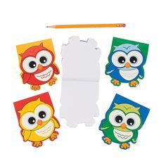 Owl-Shaped Notepads - OrientalTrading.com