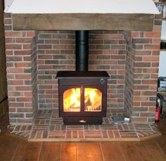 Clearview 650 flat-top stove