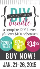 Teach your kids to be DIYers with this awesome bundle sale that starts today and ends 1/26/15