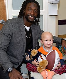 "Charles Tillman was nominated for ""Man of the Year"" award"