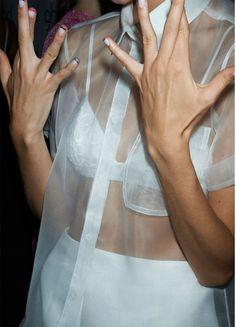 Sheer Blouse | Underwear as Outerwear #Yayer