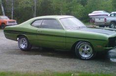 1971 Dodge Dart Demon Muscle Car by stokey04964 http://www.musclecarbuilds.net/1971-dodge-dart-demon-build-by-stokey04964