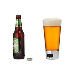 Beer Opening Glass #beergifts