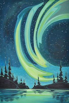 acrylic on gallery wrap available thru Avens gallery Landscape Quilts, Abstract Landscape, Landscape Paintings, Landscapes, Maple Leaf, Inspirational Artwork, Native Art, Oeuvre D'art, Unique Art
