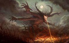 Chaos Demon by Fesbraa on DeviantArt