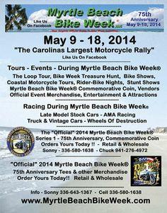 Myrtle Beach Bike Week Spring Rally