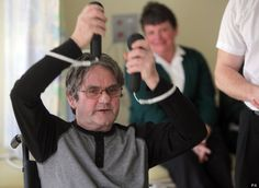 """Computer Game That Helps Rehabilitate Stroke Victims:    After a stroke, a patient can recover control of the weak arm or hand even after a long time but this requires many months of expert, daily therapy. Providing the support and motivation to enable people to carry out such a demanding programme is costly and difficult and this often limits recovery. This is where the newly-developed suite of computer games called """"Circus Challenge"""" can make a real difference."""