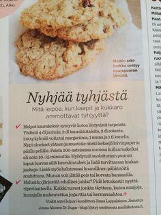 Kaurakeksit // Oat cookies