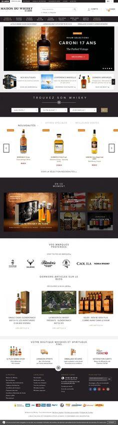 La Maison du Whisky    Vente en ligne de whiskies et spiritueux fins - Clichy, Hauts-de-Seine, Île-de-France