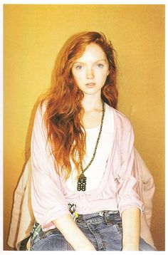 Lily Cole is my beauty icon