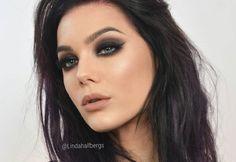 Smokeeeey. Product list on my blog  lindahallberg.com #fotd #makeup by lindahallbergs