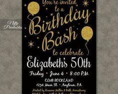 Sorpresa fiestas invitaciones  invitaciones de cumpleaños