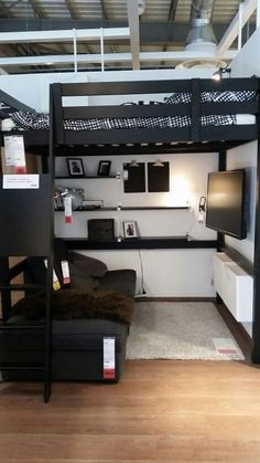 dream rooms for adults . dream rooms for women . dream rooms for couples . dream rooms for adults bedrooms . dream rooms for girls teenagers Bedroom Setup, Room Design Bedroom, Small Room Bedroom, Gamer Bedroom, Bedroom Loft, Ikea Boys Bedroom, Space Saving Bedroom, Warm Bedroom, Small Apartment Bedrooms