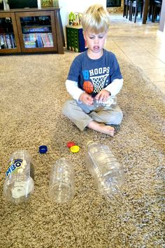 5 Fun Learning Activities with Bottles and Caps