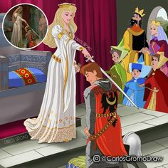 Disney as Paintings . Edmund Blair Leighton – The Accolade . Have your print on:… Sleeping Beauty ? Disney as Paintings . Edmund Blair Leighton – The Accolade . Have your print on:… Disney Pixar, Disney Animation, Film Disney, Disney Couples, Disney And Dreamworks, Disney Love, Disney Magic, Disney Characters, Dark Disney