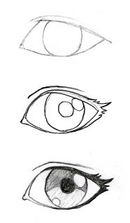 JohnnyBro's How To Draw Manga: Drawing Manga Eyes (Part I)