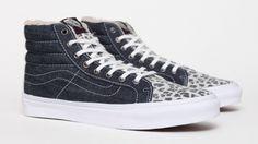 Vans Sk8-Hi S Denim/Leopard
