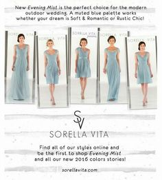 Sunday Sassy is Sorella Vita bridesmaid available at Classic Bride & Formals.  Schedule your appointment now to find your perfect bridesmaid dresses.  Info@ClassicBrideandFormals.com